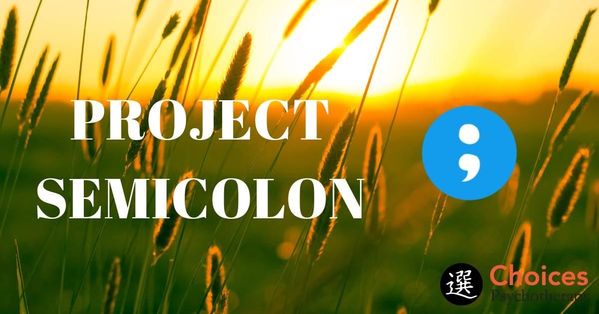 Project Semicolon, field with sunlight