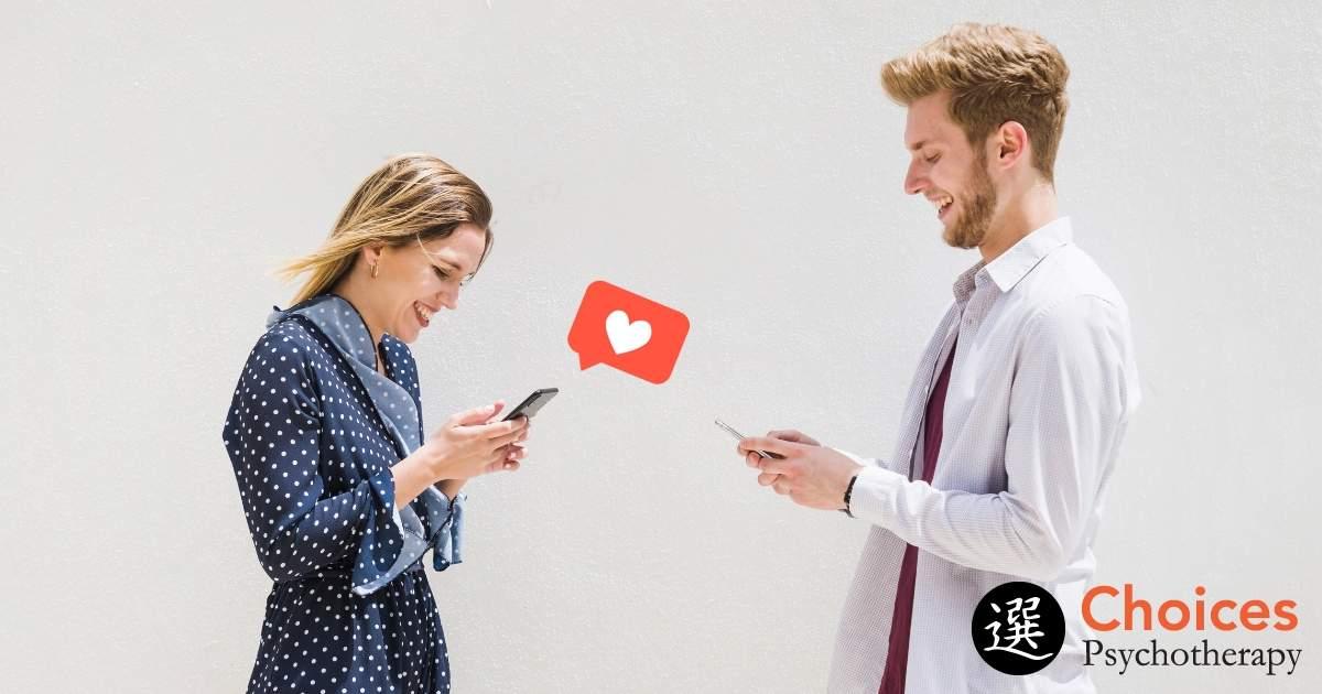 Millennials and Communication, girl texting boy