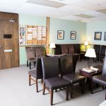 Choices, office image, reception area