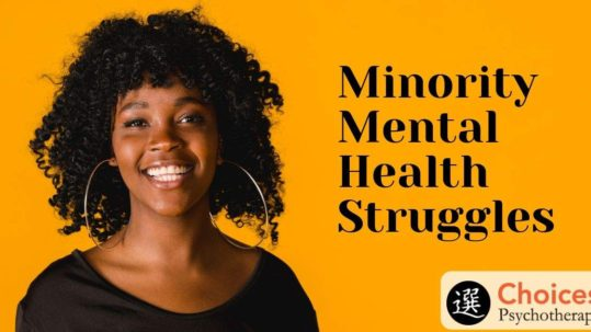 Minority Mental Health Struggles, Happy woman