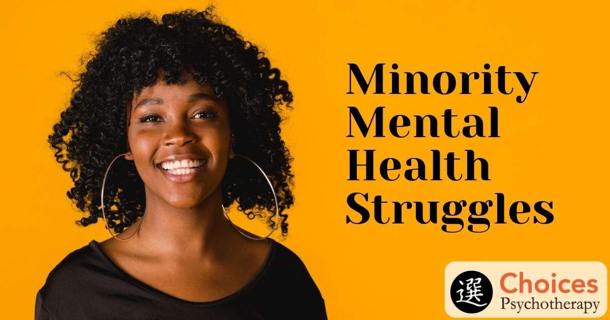 Minority Mental Health Struggles, Happy woman