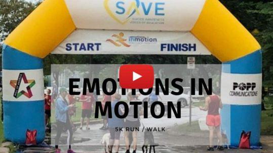 Emotions in Motion 5K Run/Walk