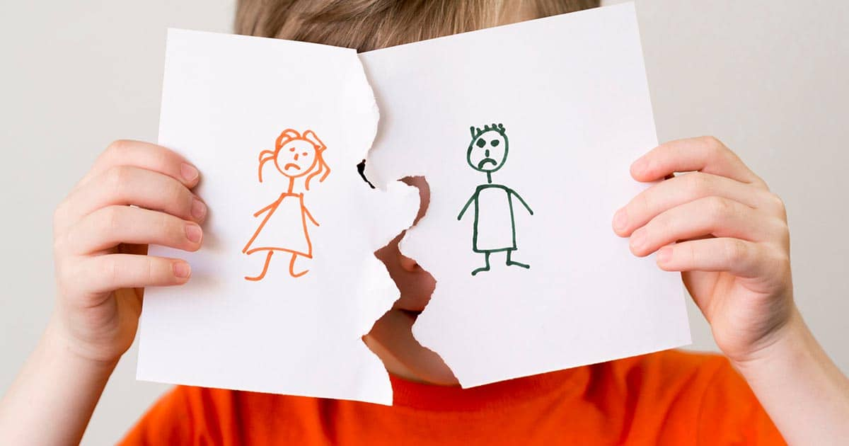 children and divorce, dad and daughter